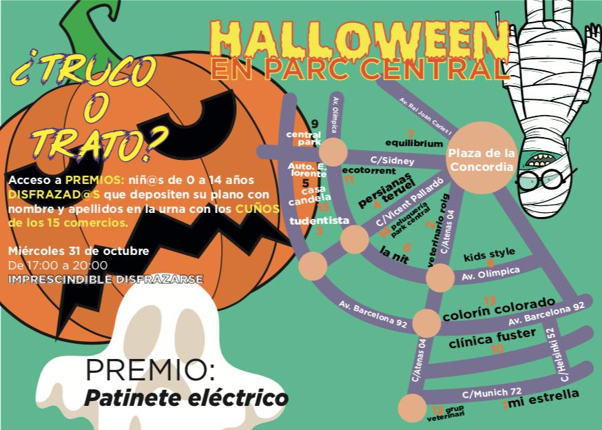 """ACST patrocina el """"Halloween 2018"""" del Parc Central (31.10.18) !!"""