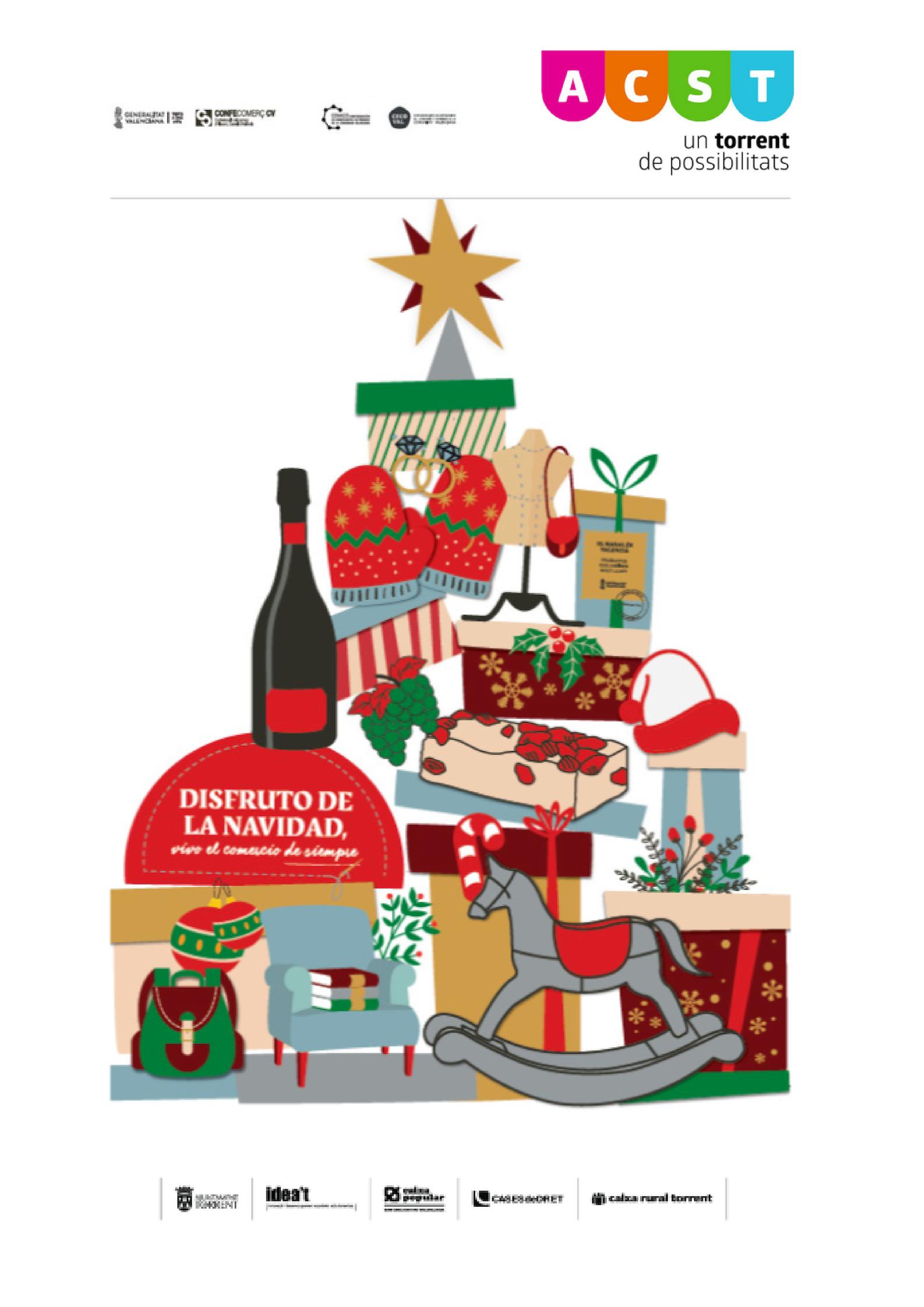 """Campaña de Navidad ACST 2018: """"Disfruto de la Navidad. Vivo el Comercio de Siempre"""" !!!"""