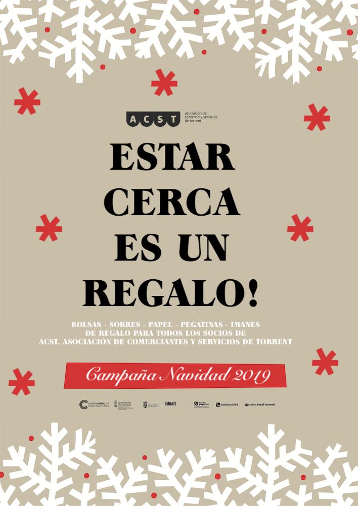 Estar Cerca es un Regalo! Campaña de Navidad 2019 de ACST con miles de regalos!