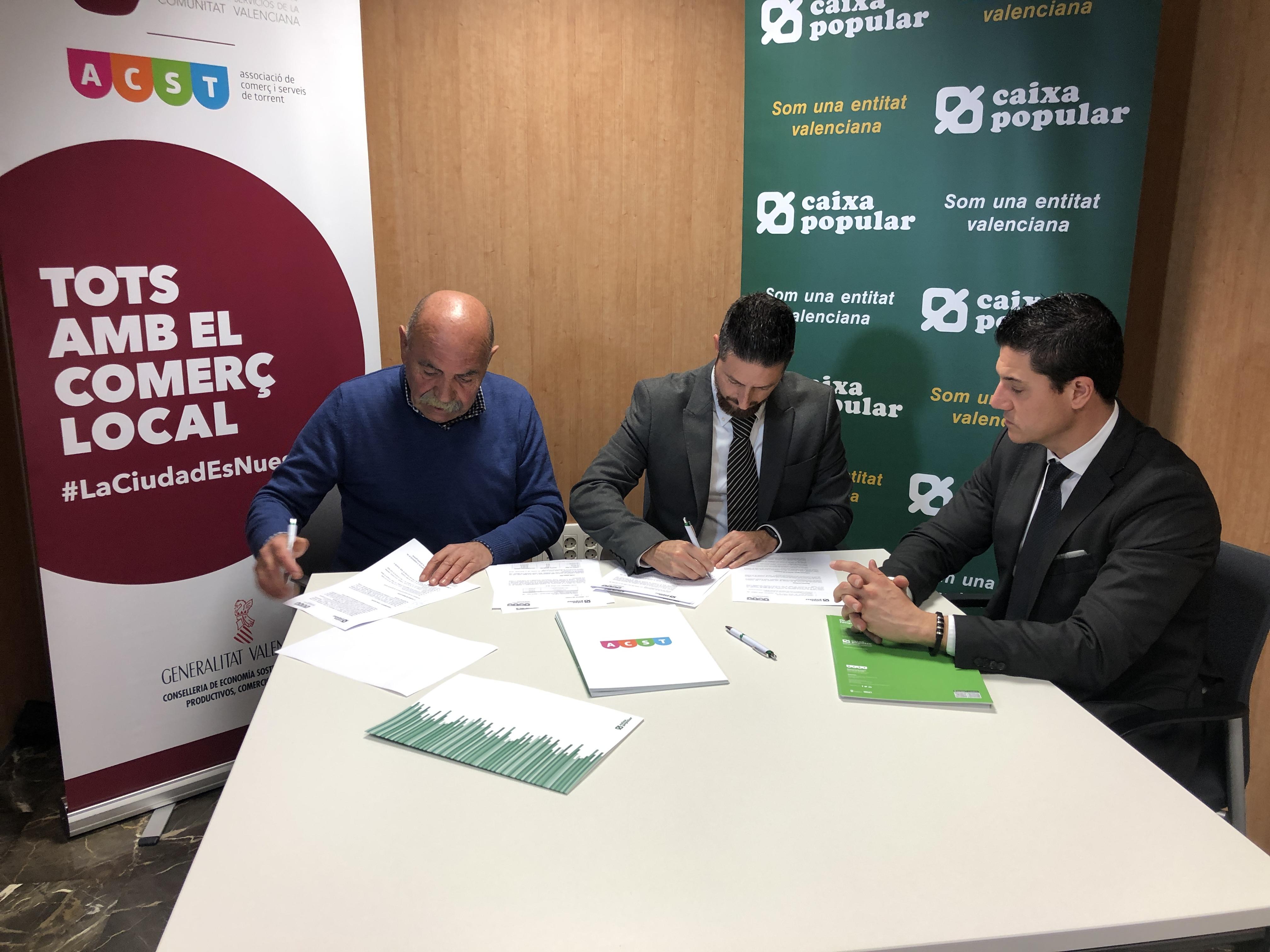 ACST firma convenio con Caixa Popular !!