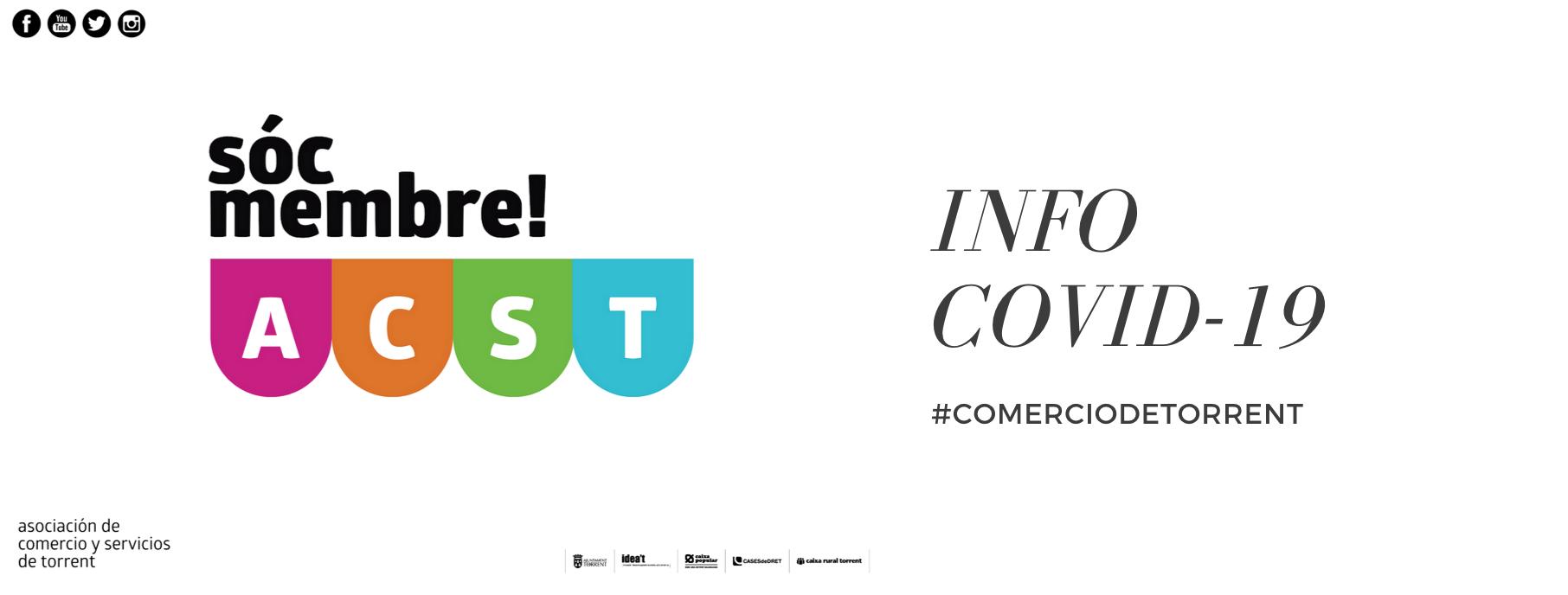 Nuevas Medidas contra Rebrotes del COVID-19 en los Comercios (Generalitat Valenciana) !!