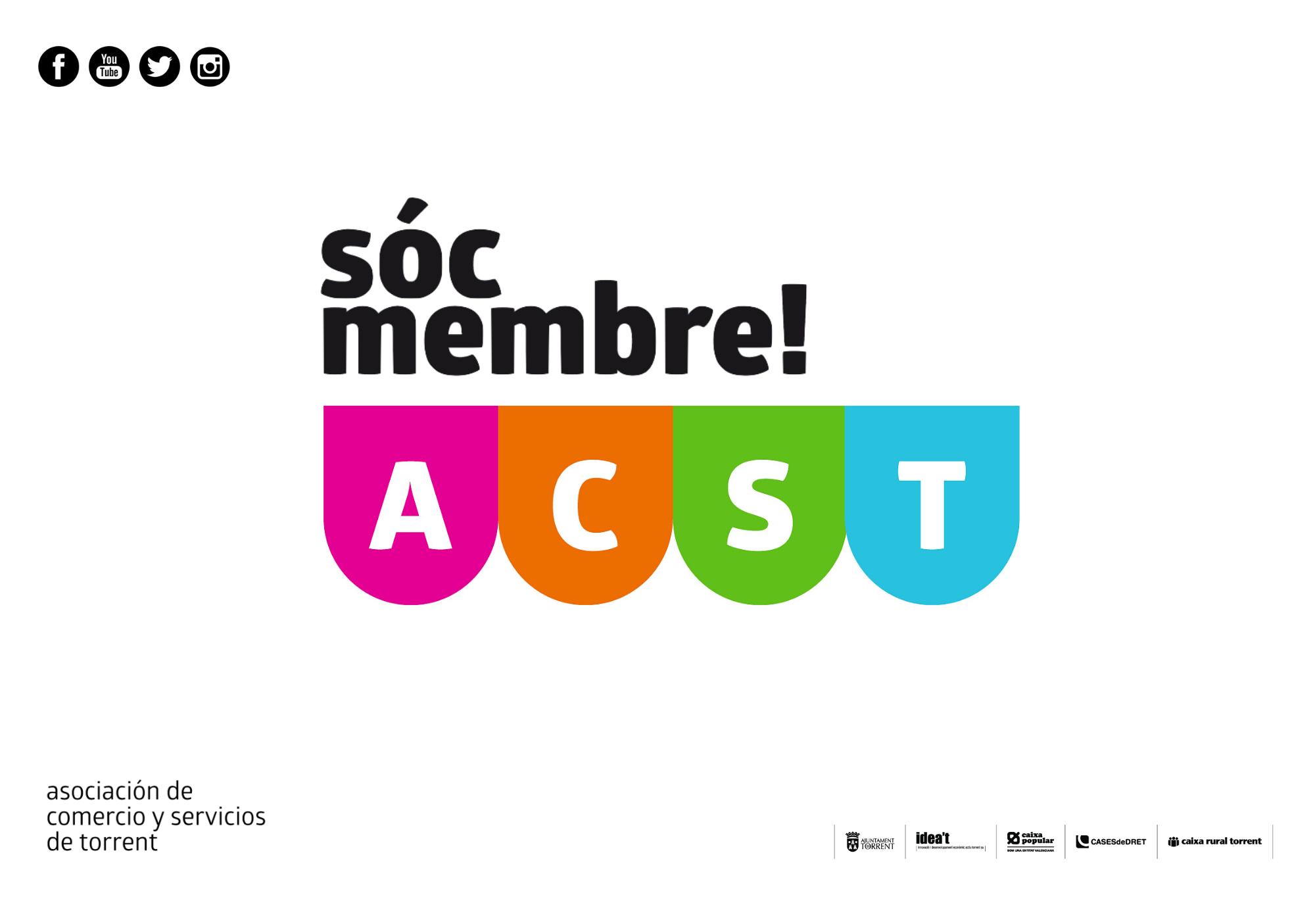 Convocatoria de Asamblea General Ordinaria y Extraordinaria de ACST. Asociación de Comerciantes y Servicios de Torrent