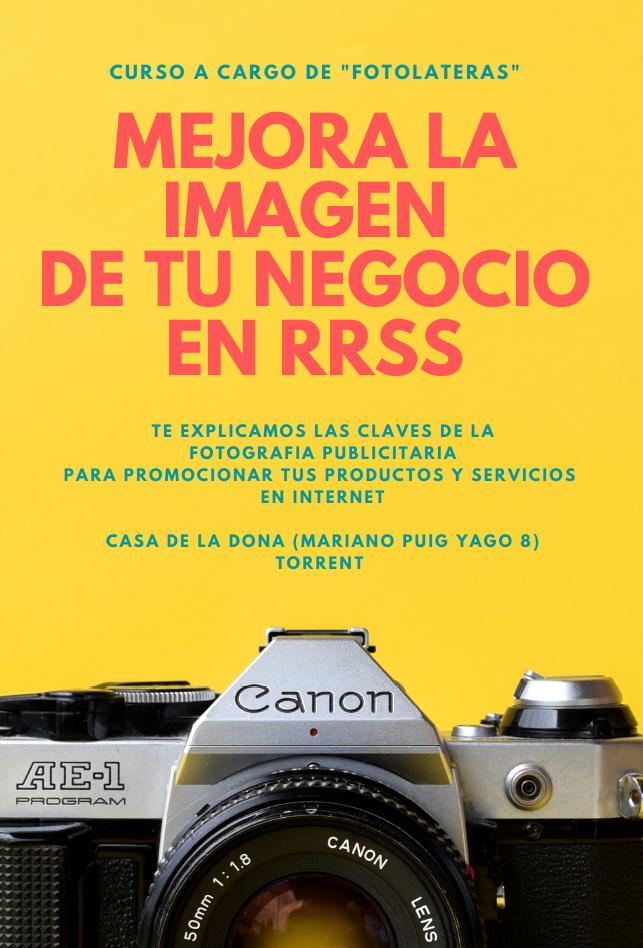"""Curso """"Mejora la Imagen de tu Negocio en RRSS"""" (28.06 – 01.07.21) !!! Reserva tu Plaza !!!"""