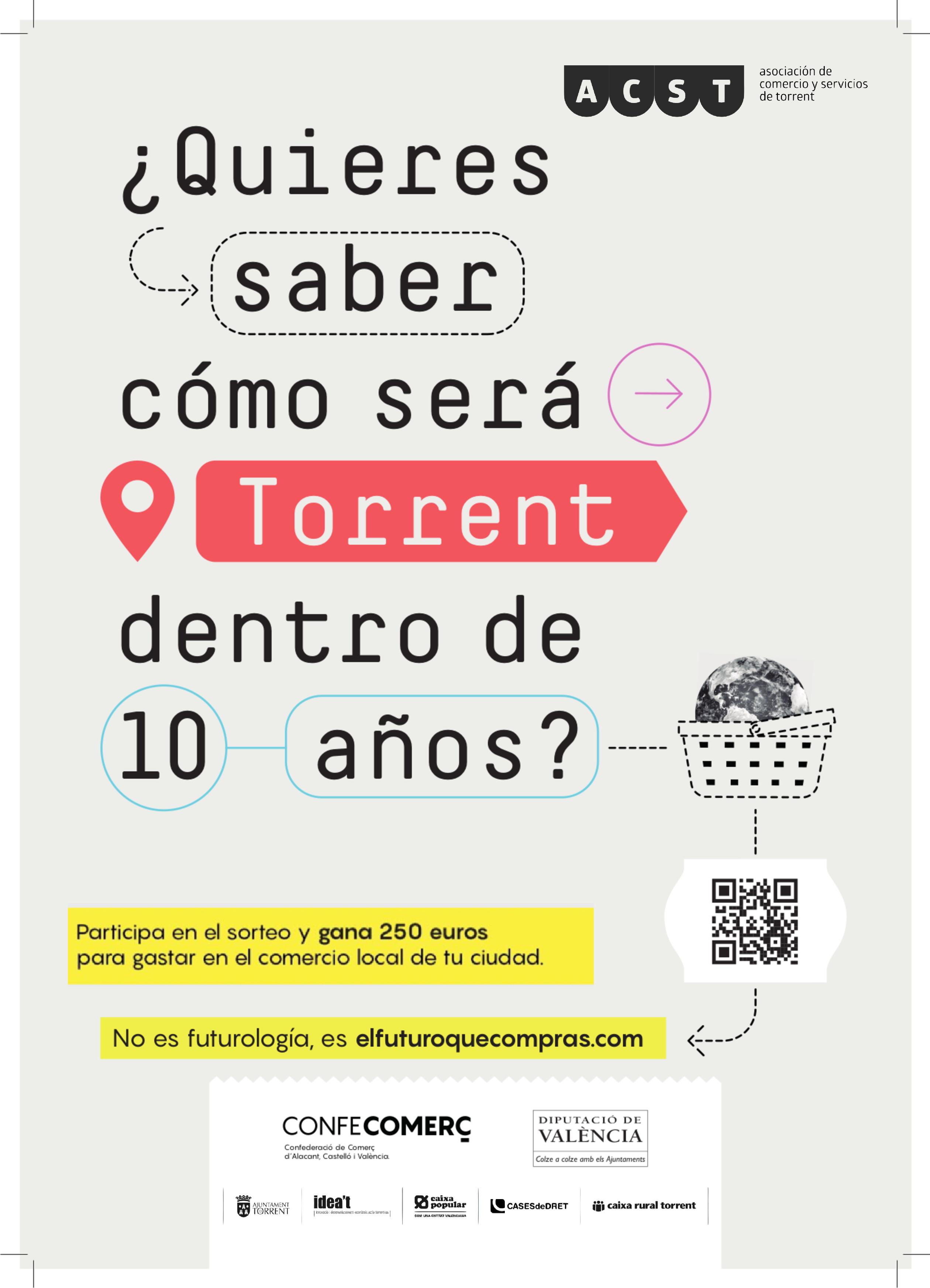 """Participa en la Campaña """"#ElFuturoqueCompras"""" y gana 250€ para gastar en el Comercio de Torrent !!!"""